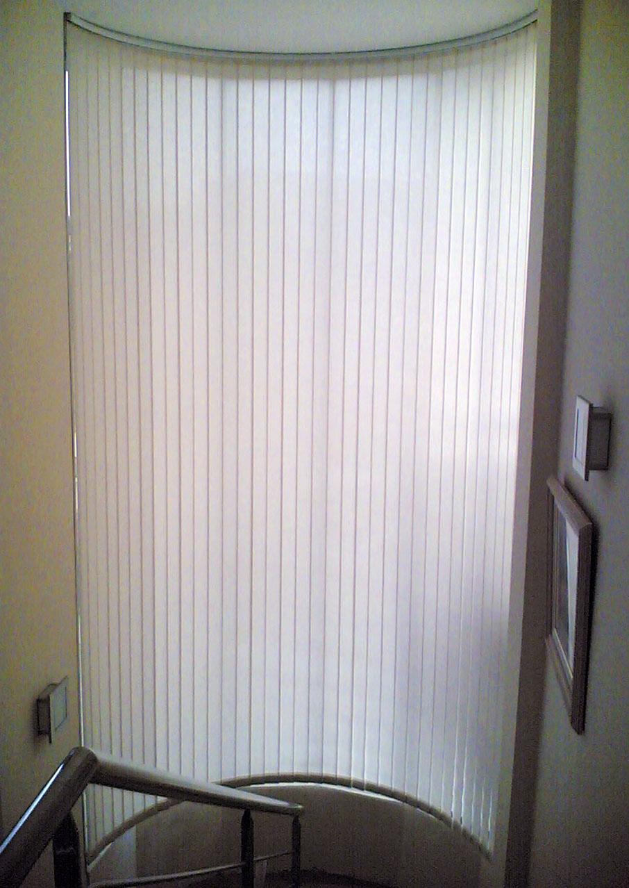 Carpinter a de aluminio pitarque vidriers s l cortinas - Cortinas venecianas verticales ...
