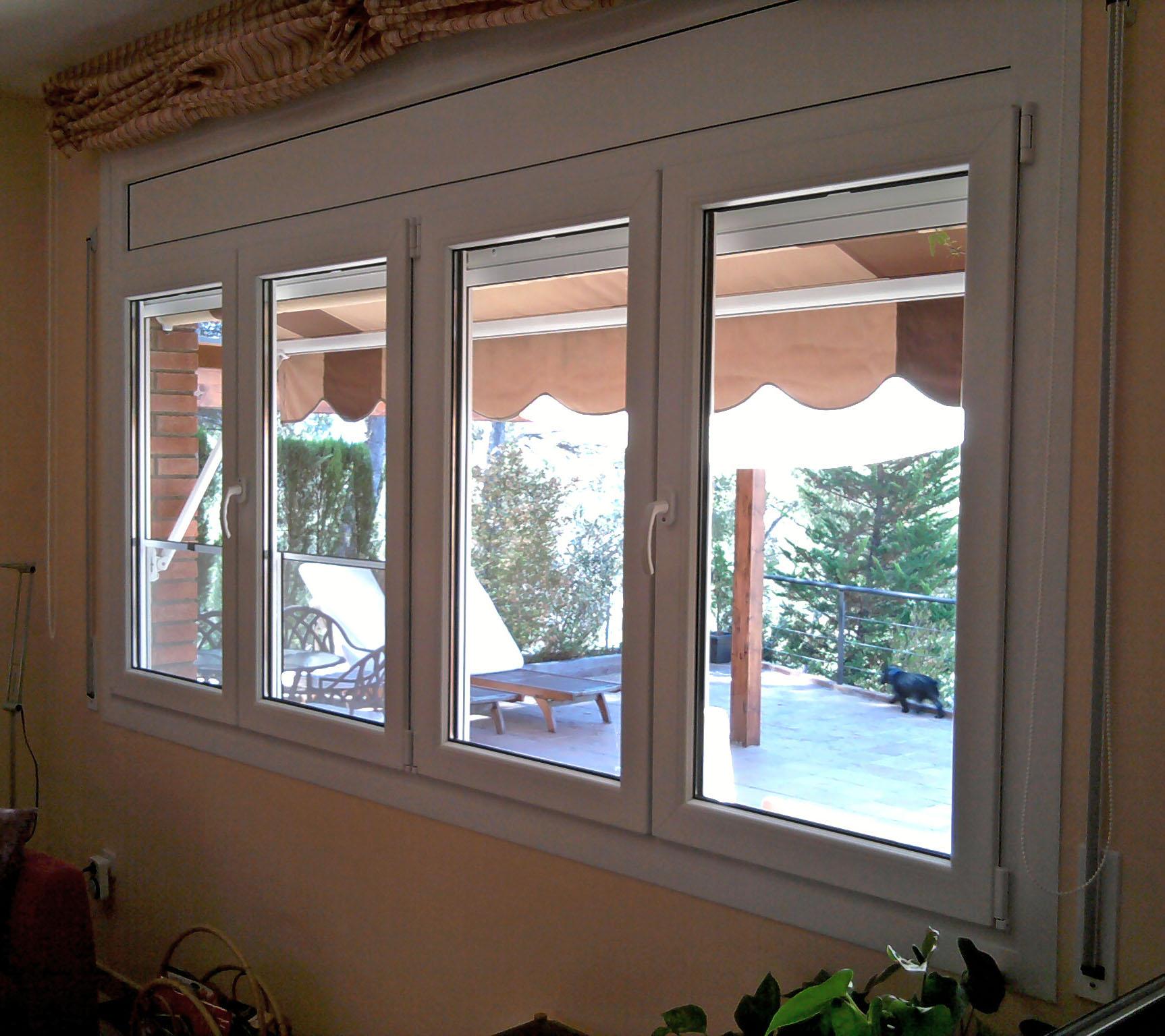 Carpinter a de aluminio pitarque vidriers s l ventanas - Instalar ventana aluminio ...